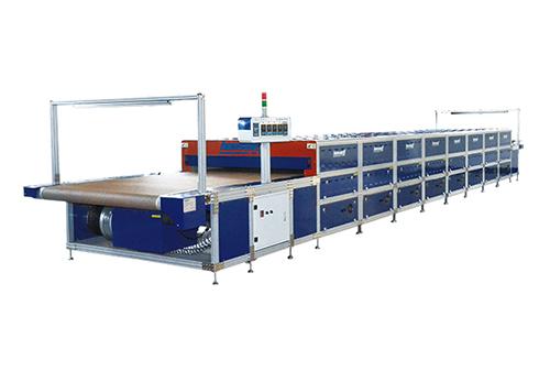 Modularization structure tunnel dryer maintenance and maintenance